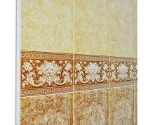Панели ПВХ для ванной с Фризами (под плитку)