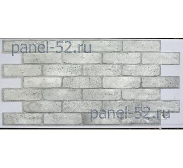 """Панель ПВХ Листовая """"Кирпич старый серый"""""""