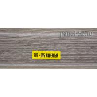 "Плинтус  ""ИДЕАЛ"" Дуб кофейный 207"