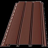 Соффит Т4 Сплошной (Шоколад, Гранат)