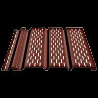 Соффит Т4 Перфорированный (Шоколад, Гранат)