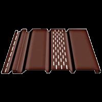 Соффит Т4 С центральной перфорацией (Шоколад, Гранат)