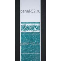 Панель ПВХ Фриз Лоза-102 Балтика