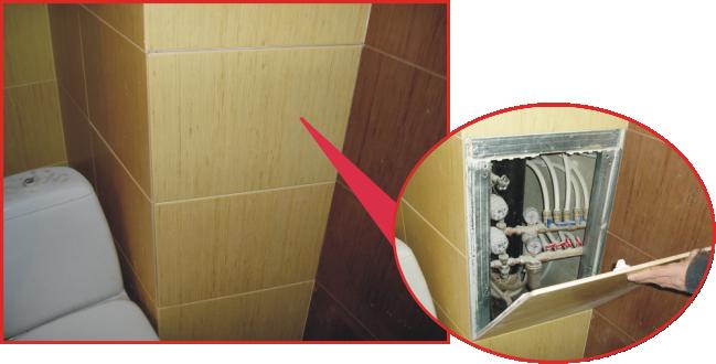 космическая фантастика дверца сантехническая под плитку дискомфорта